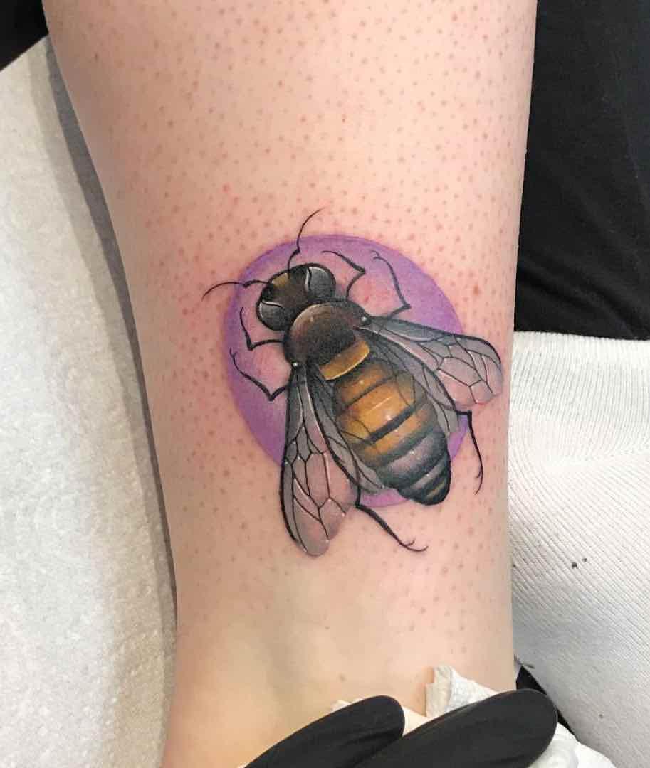 Bee Tattoo 2 by Fraser Peek