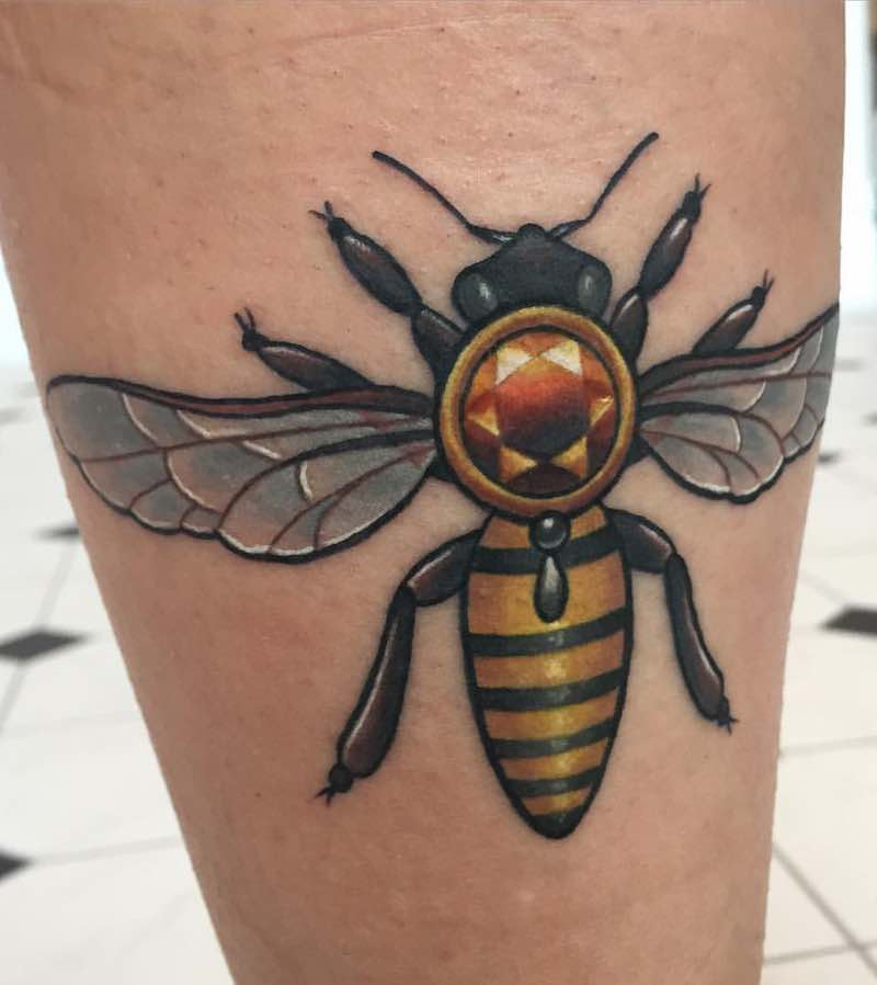 Bee Tattoo 2 by Michelle Maddison