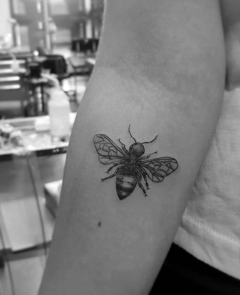 Bee Tattoo 3 by Alexandyr Valentine