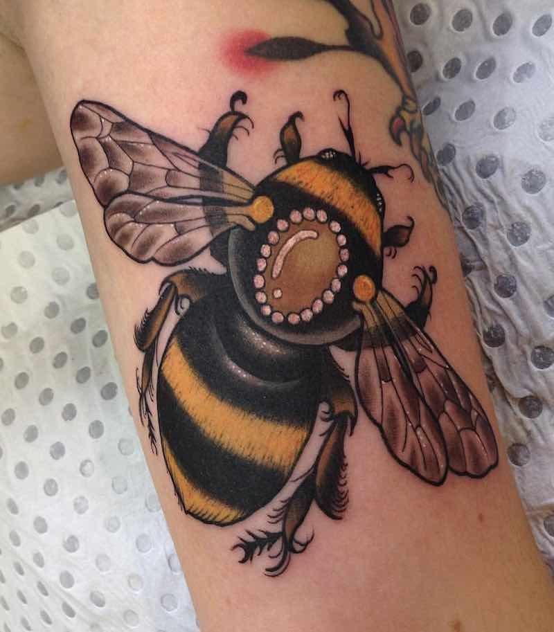 Bee Tattoo 3 by Drew Shallis
