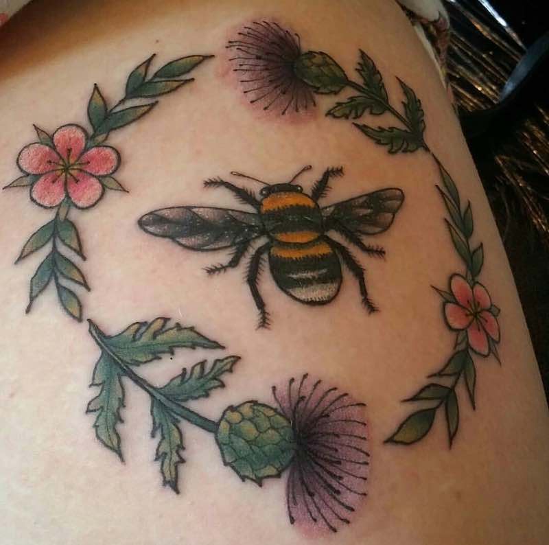 Bee Tattoo 4 by Ellis Arch