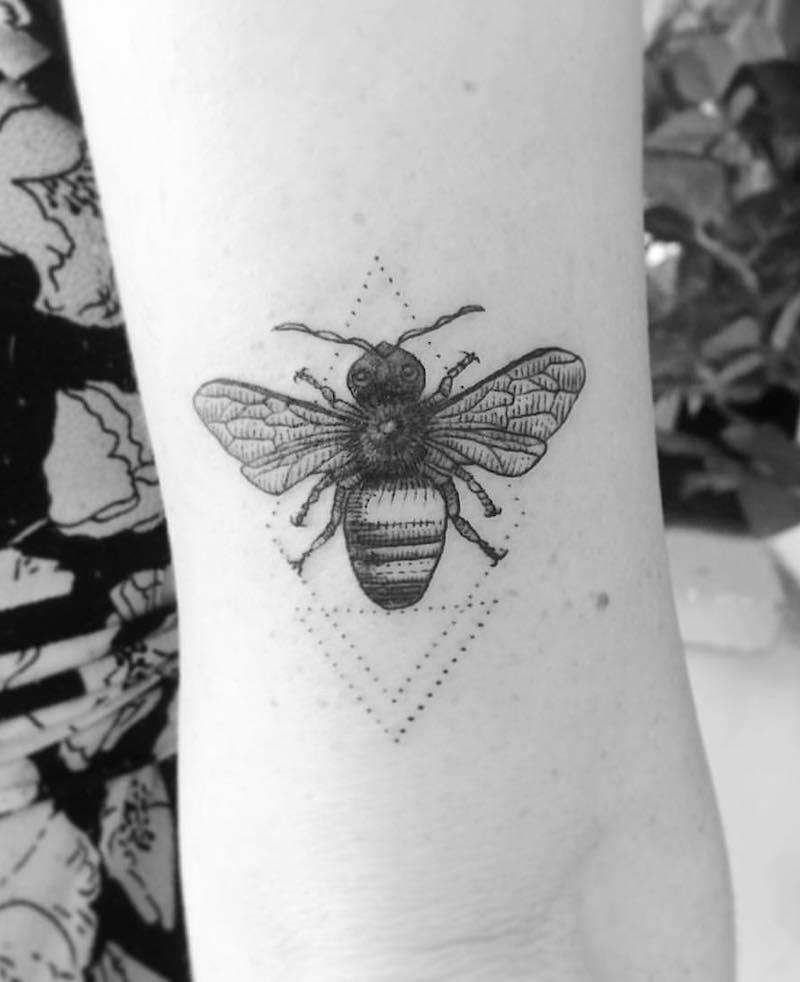 Bee Tattoo 7 by Alexandyr Valentine
