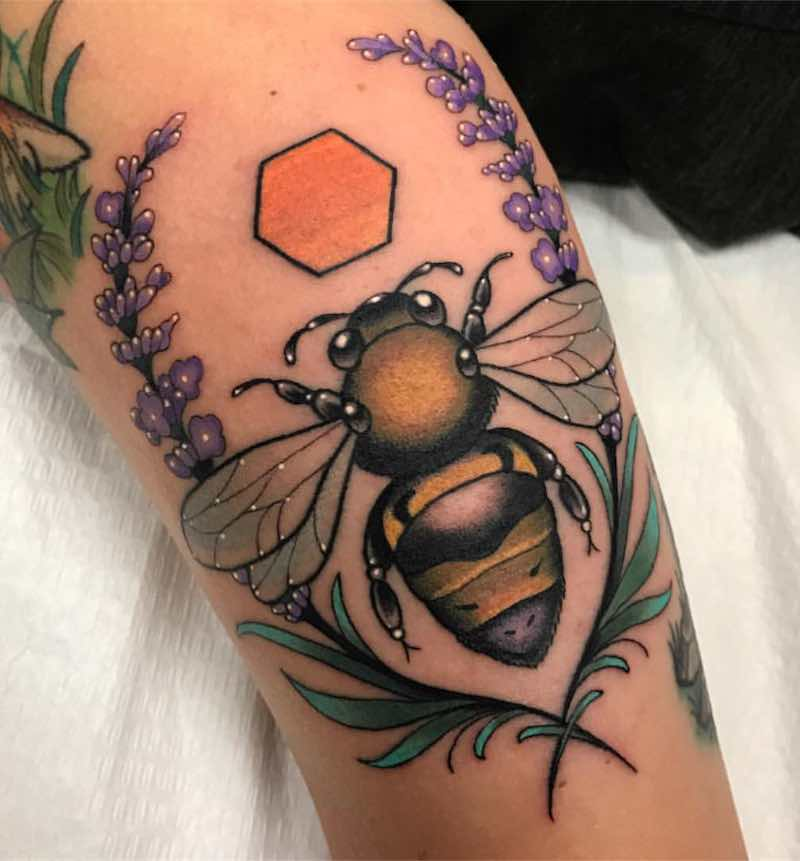 Bee Tattoo by Patrick Whiting