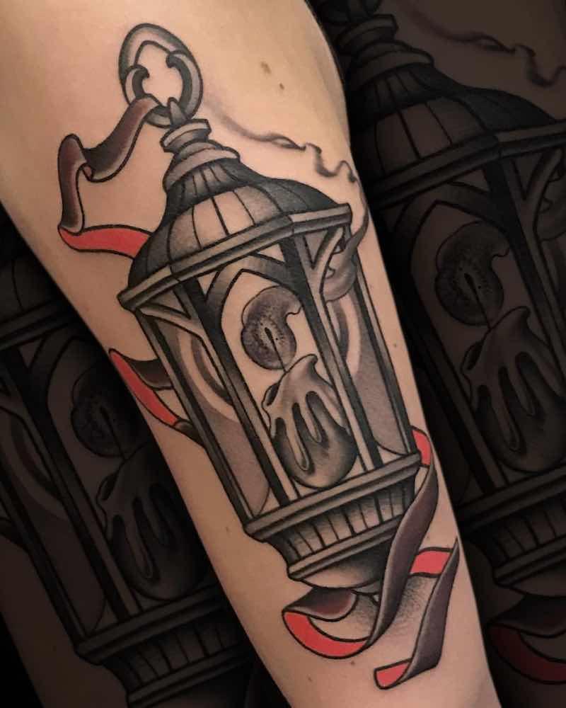 Lantern Tattoo 3 by Fulvio Vaccarone