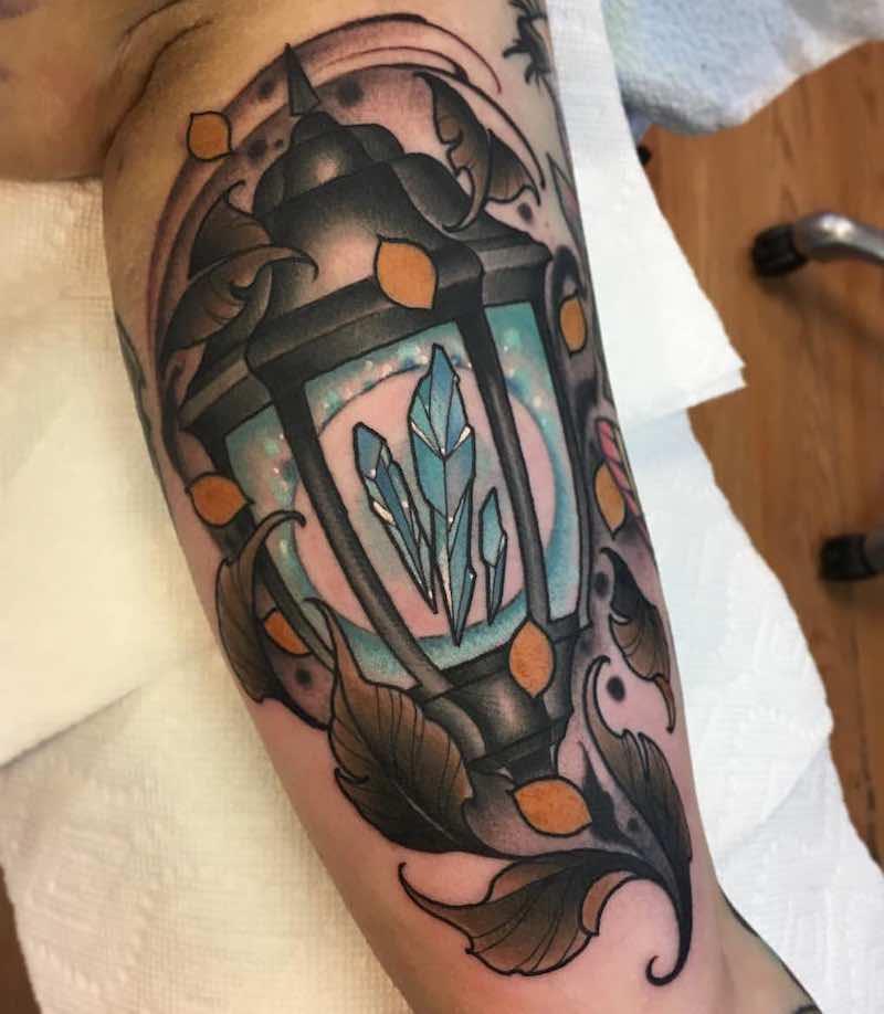Lantern Tattoo 3 by RB Tattoo