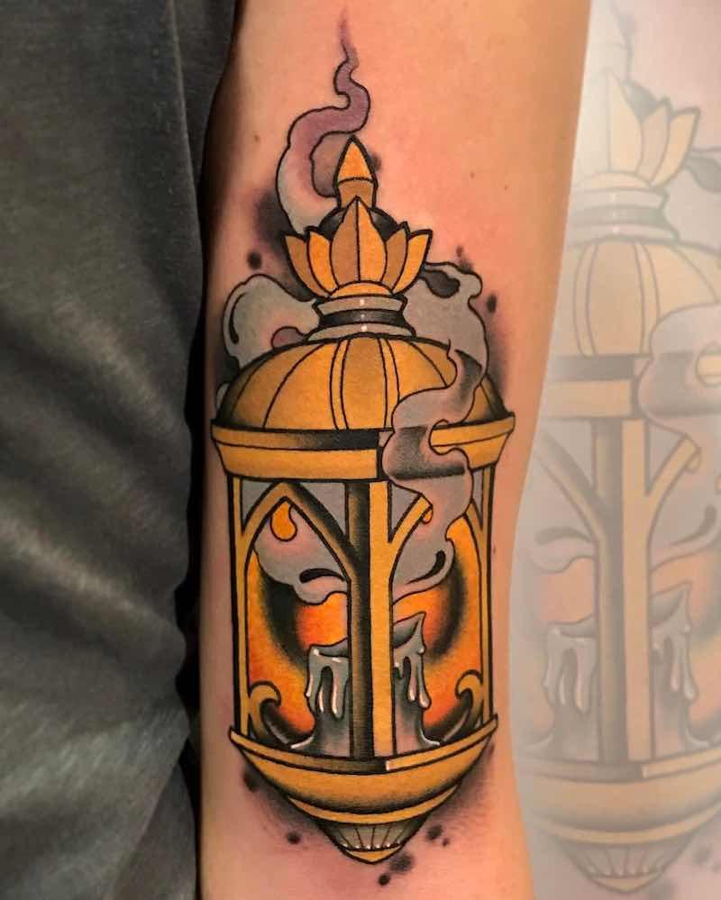 Lantern Tattoo 4 by Fulvio Vaccarone