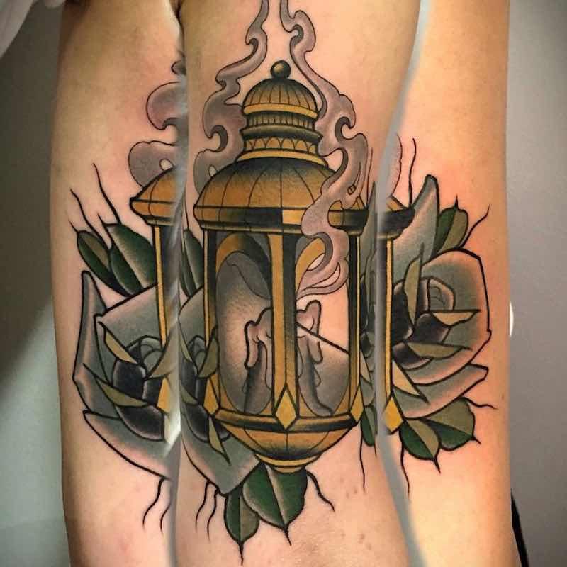 Lantern Tattoo 5 by Fulvio Vaccarone