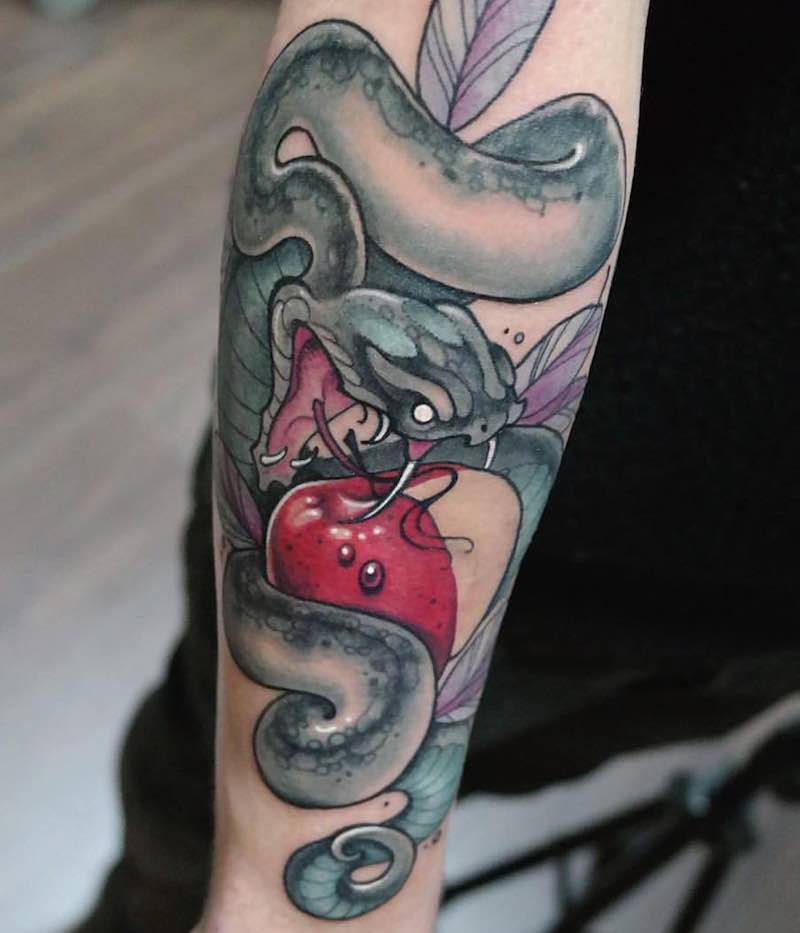 Snake Tattoo 2 by Gianpiero Cavaliere