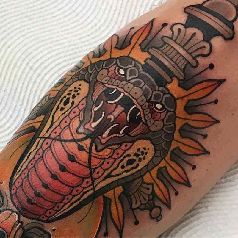 Snake Tattoo 2 by Heath Clifford