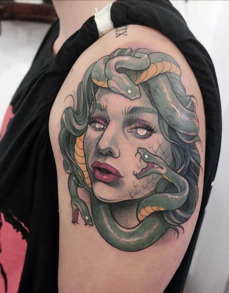 Snake Tattoo by Gianpiero Cavaliere