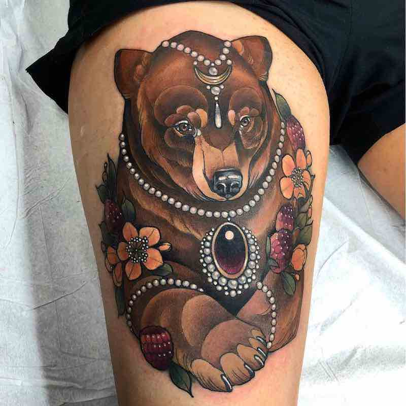 Bear Tattoo 2 by Arielle Gagnon