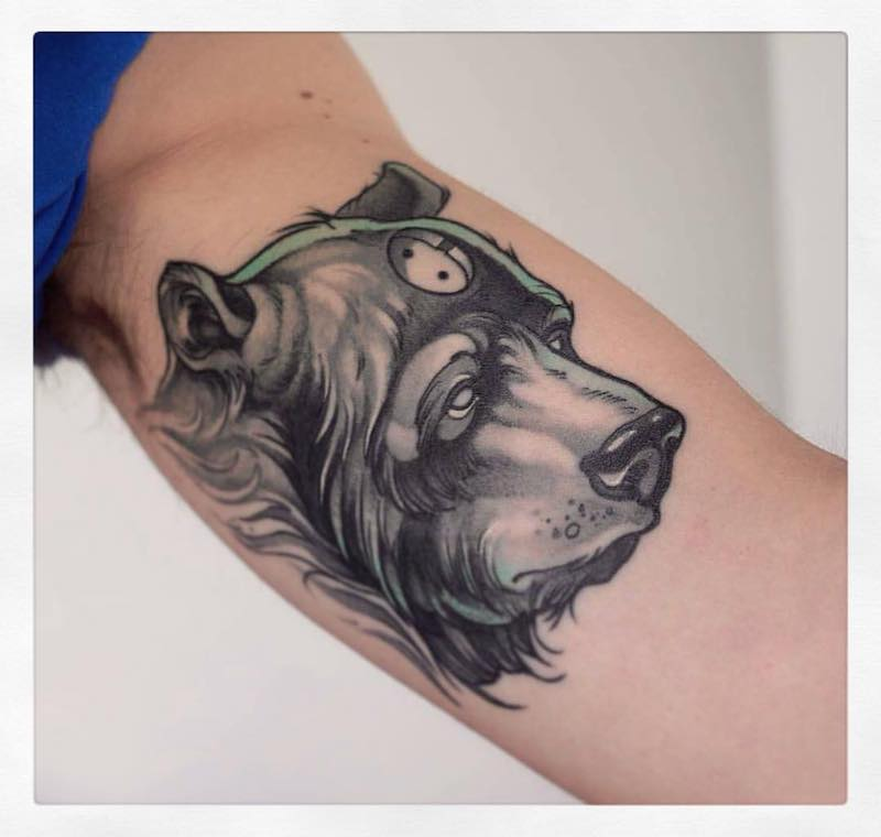 Bear Tattoo 2 by Gianpiero Cavaliere