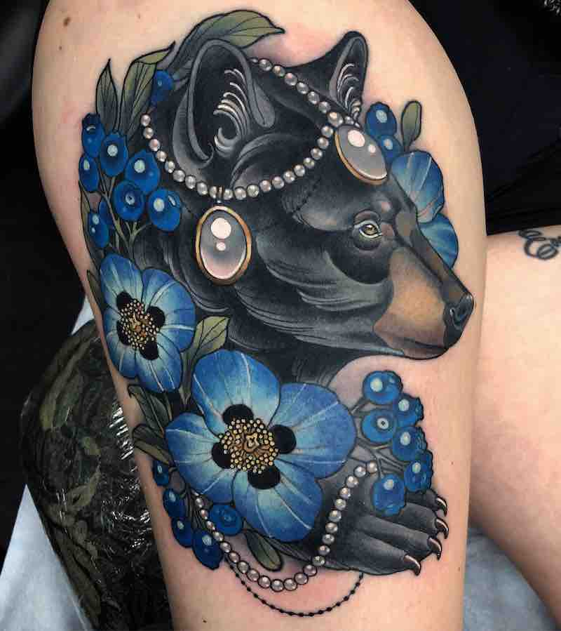 Bear Tattoo 3 by Arielle Gagnon