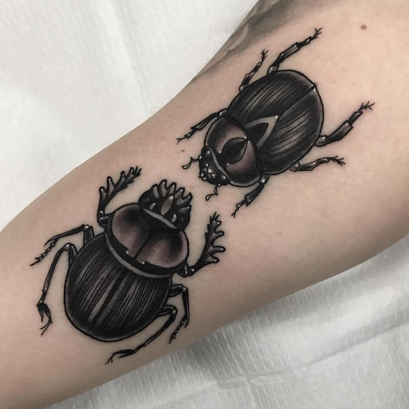 Beetle Tattoo Patrick Whiting
