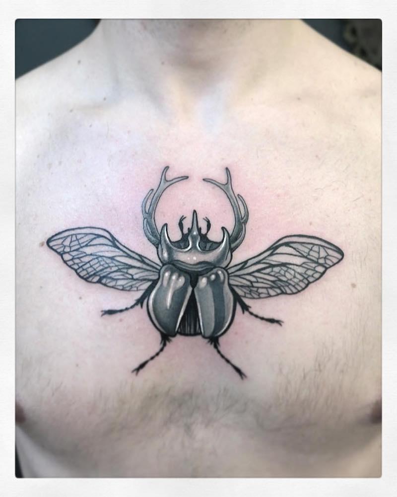 Beetle Tattoo by Gianpiero Cavaliere