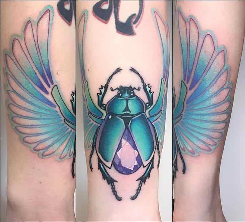 Beetle Tattoo by Jeremy Sloo