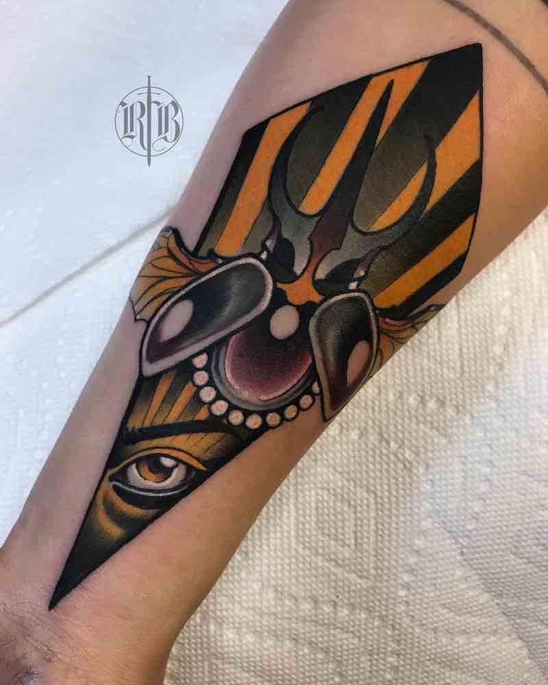 Beetle Tattoo by RB Tattoo