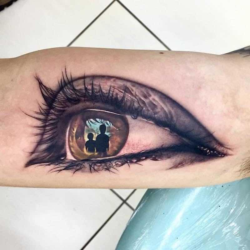 Eye Tattoo 2 by Arnaldo Radeke