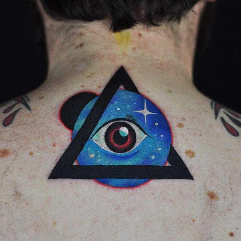 Eye Tattoo 2 by David Peyote