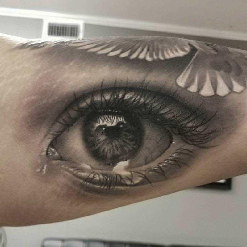 Eye Tattoo 2 by David Vega