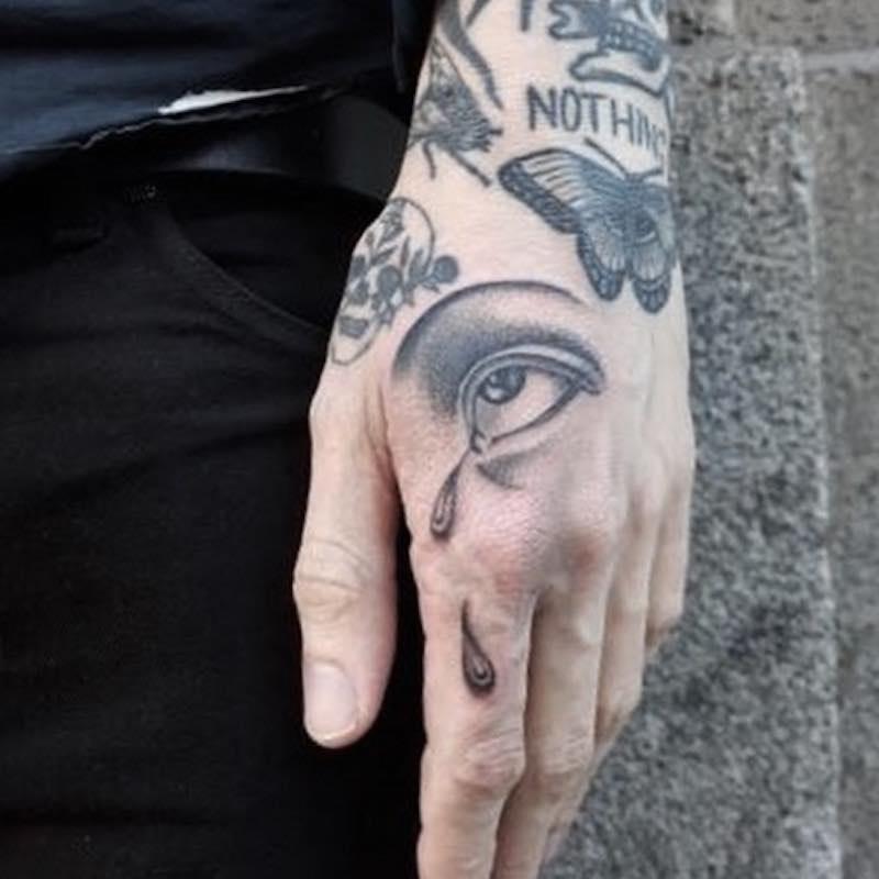 Eye Tattoo 2 by Jack Ankersen
