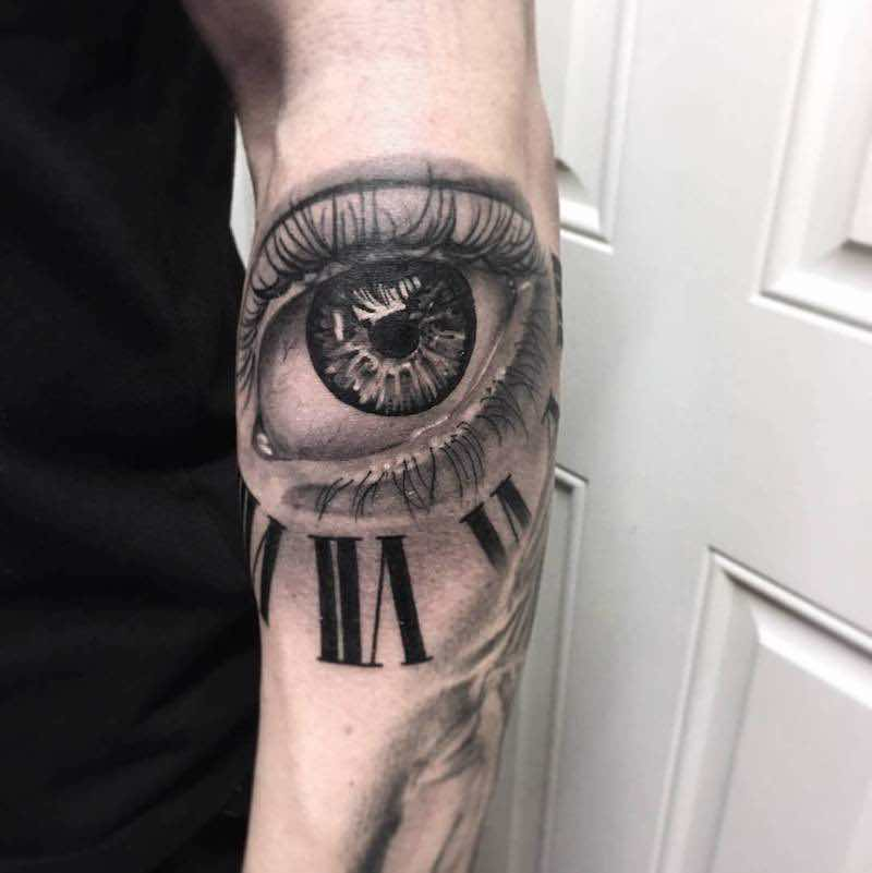 Eye Tattoo 2 by Lee Compton