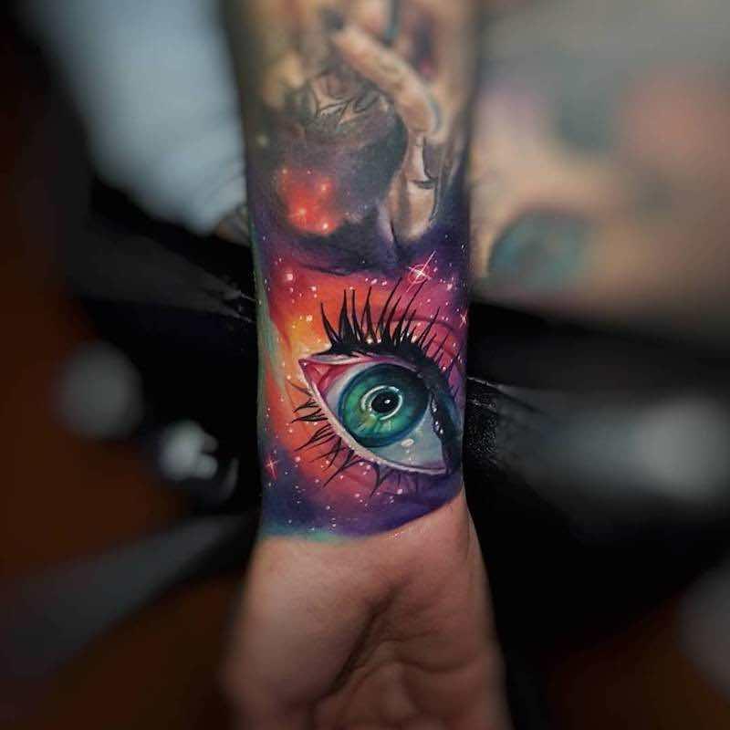 Eye Tattoo 4 by Tyler Malek