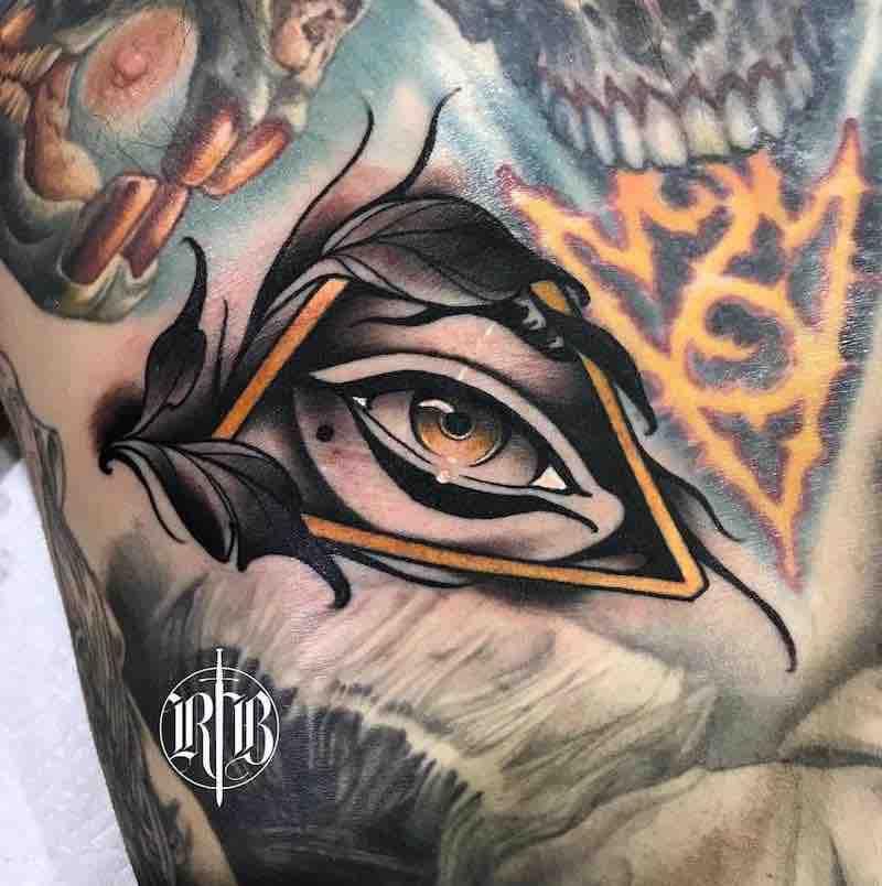 Eye Tattoo by 2 Alan Ferioli