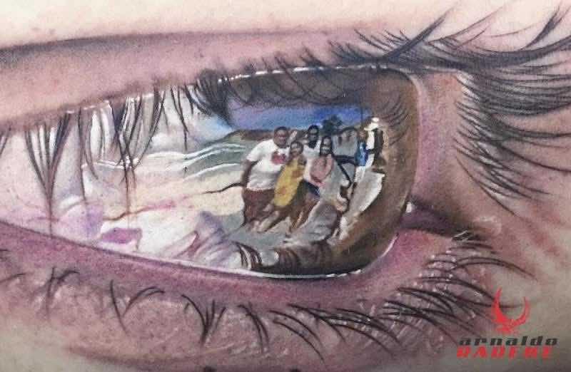 Eye Tattoo by Arnaldo Radeke