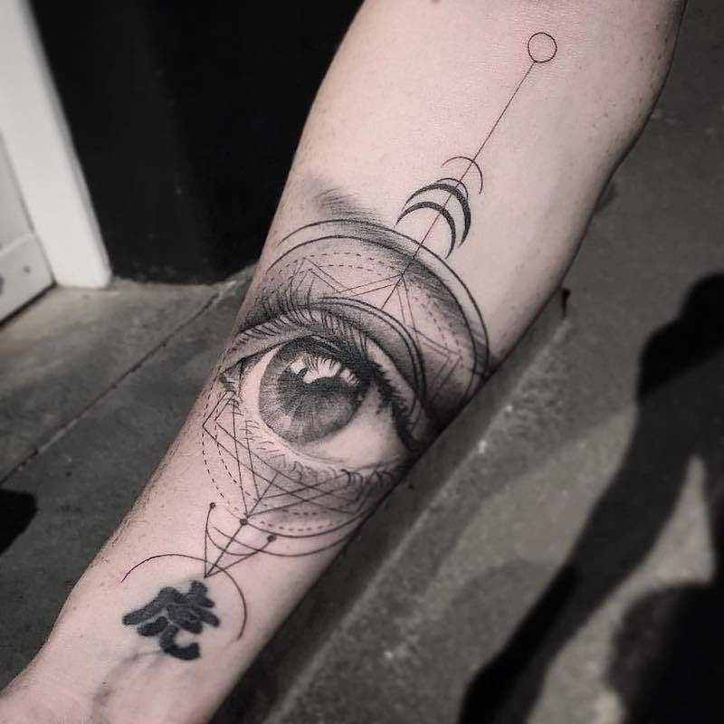 Eye Tattoo by Daniel Paarup