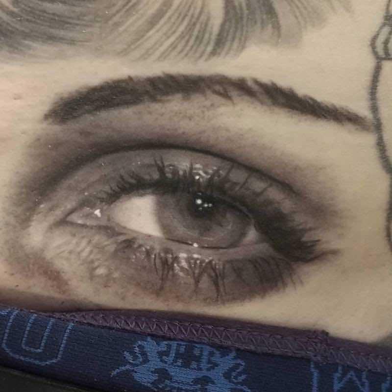 Eye Tattoo by David Vega