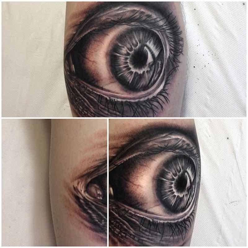 Eye Tattoo by Dean Lawton