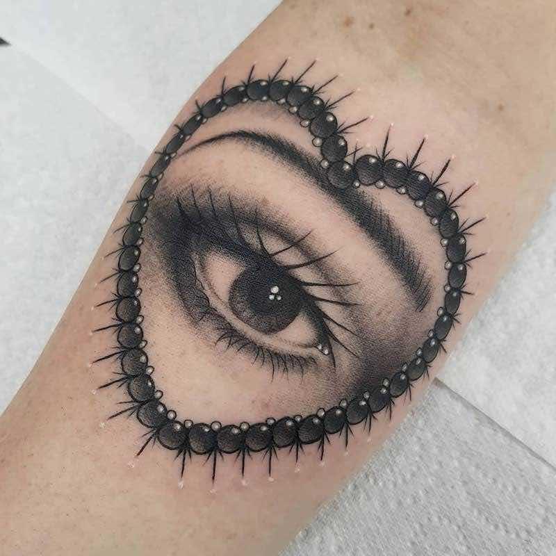 Eye Tattoo by Ellis Arch
