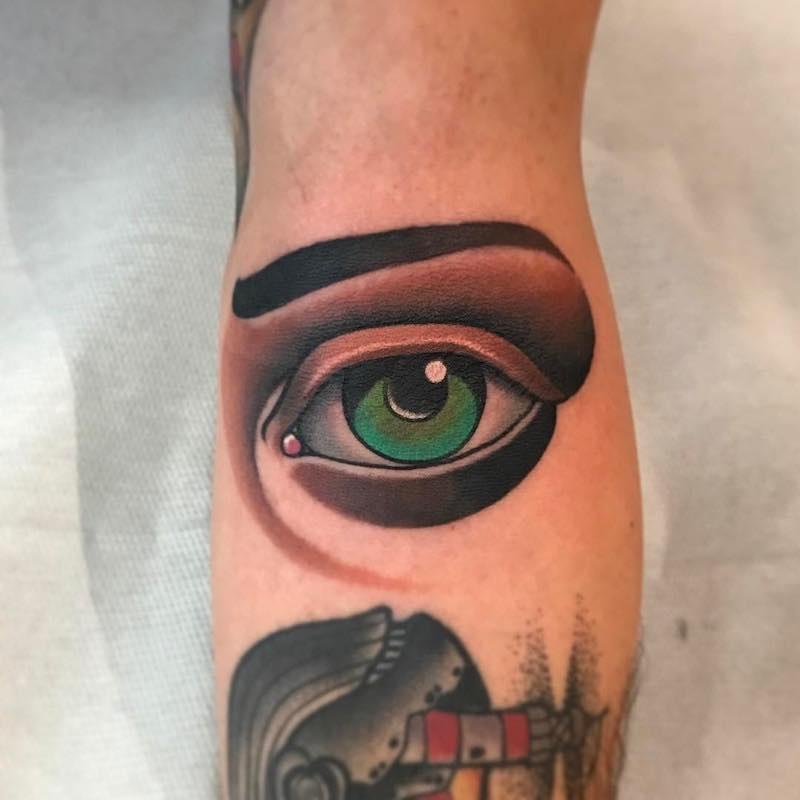Eye Tattoo by Fulvio Vaccarone