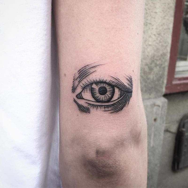 Eye Tattoo by Jack Ankersen