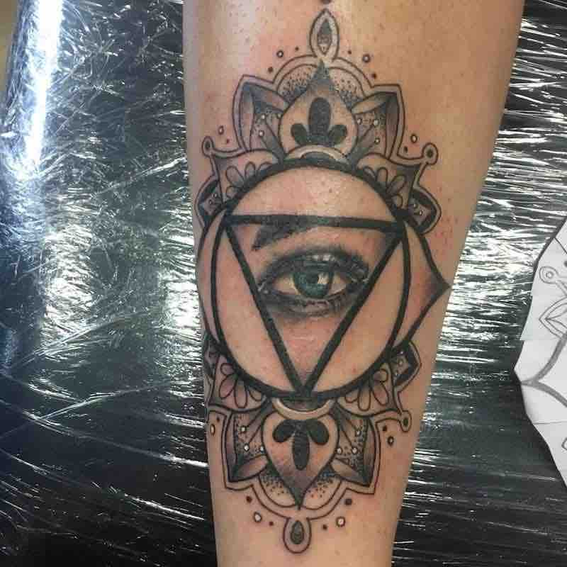Eye Tattoo by Jessekarh