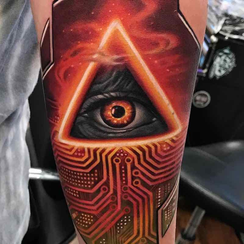 Eye Tattoo by Kyle Cotterman