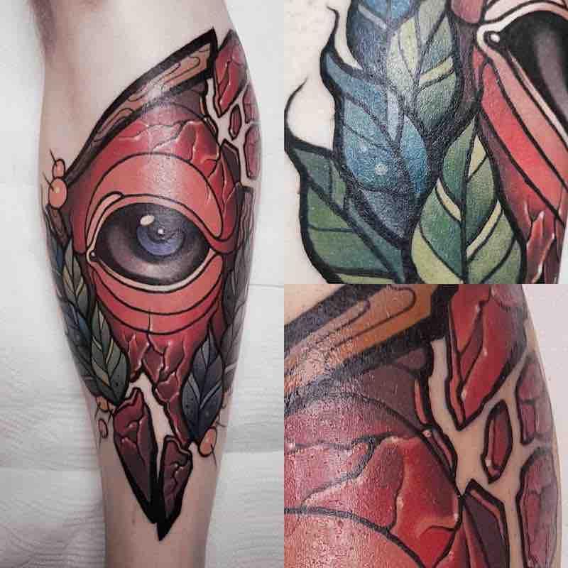 Eye Tattoo by Laura Konieczna