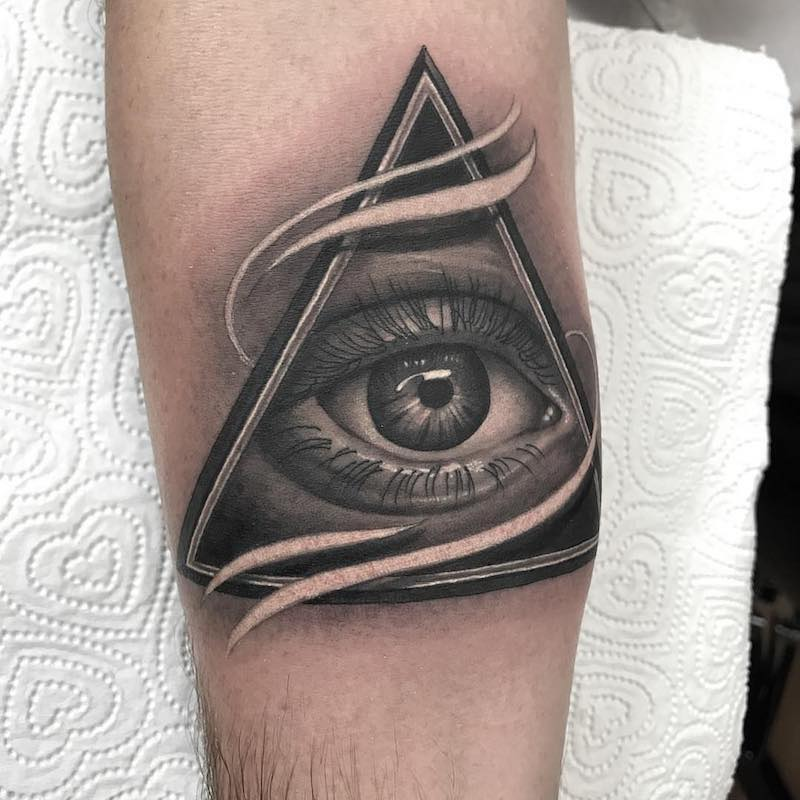 Eye Tattoo by Lee Compton