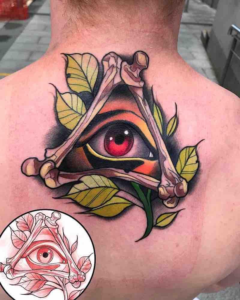 Eye Tattoo by Matthew Larkin