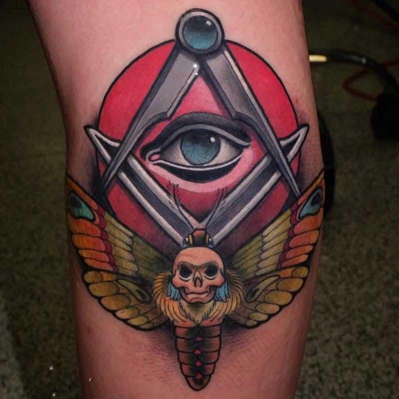 Eye Tattoo by Myrhwan Cortes