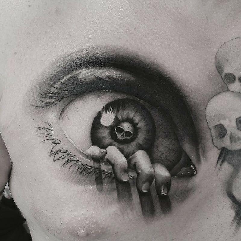 Eye Tattoo by Rich Knight