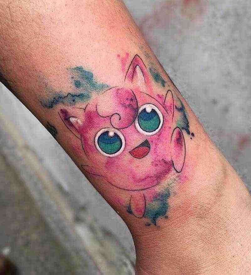 Pokemon Tattoo 2 by Michela Bottin