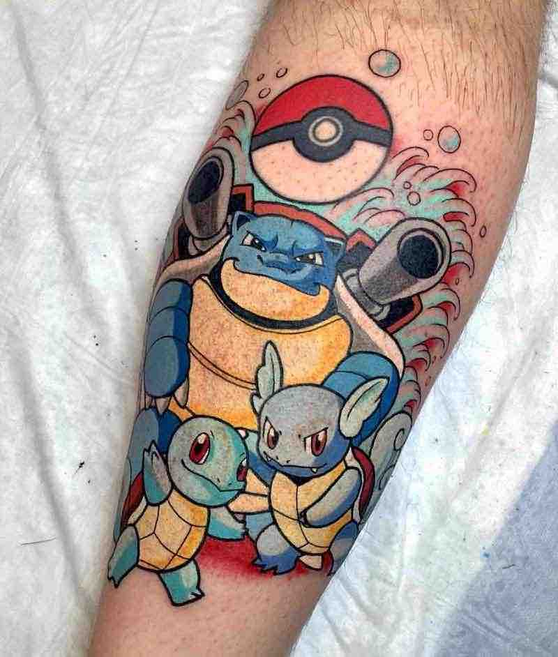 Pokemon Tattoo 3 by Kimberly Wall