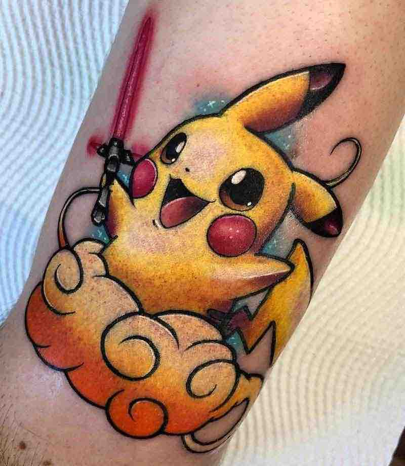 Pokemon Tattoo 6 by Stefan Salamone