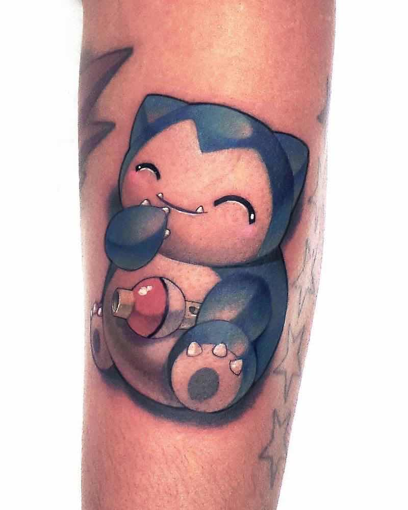 Pokemon Tattoo 6 by Steven Compton