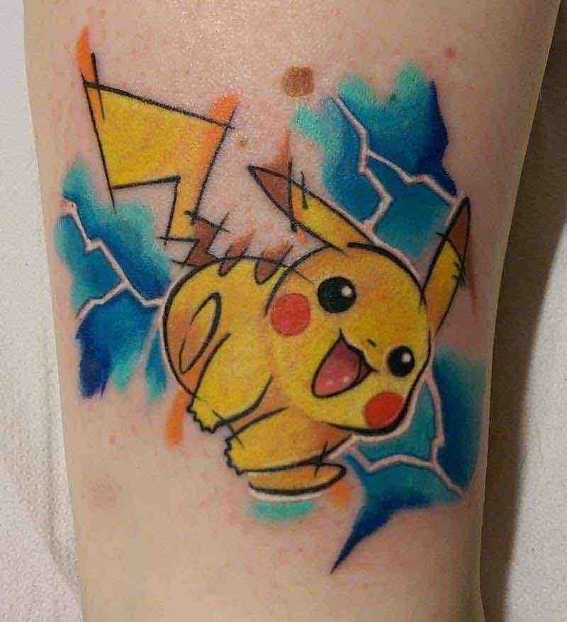 Pokemon Tattoo 7 by Chris Hill
