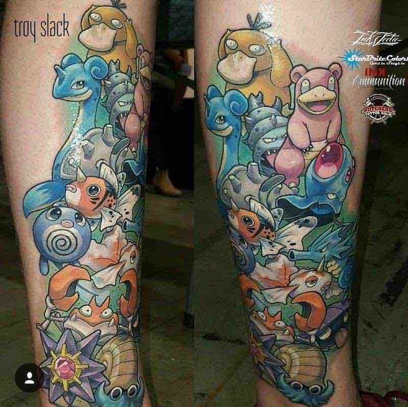 Pokemon Tattoo Troy Slack