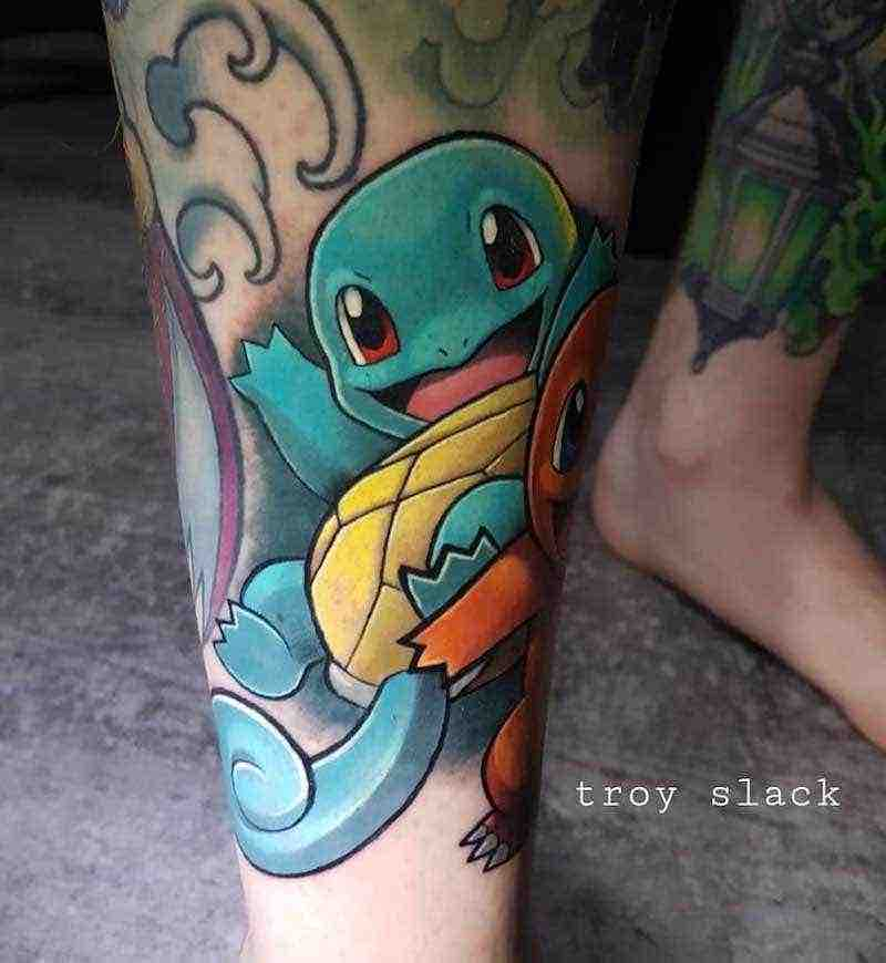 Pokemon Tattoo by Troy Slack
