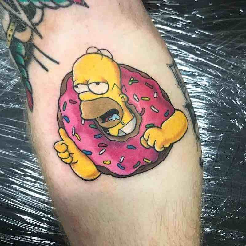 Simpsons Tattoo 3 by Jessekarh
